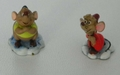 Disney Enchanted Places Olszewski Miniatures Gus & Jaq 3/4 inch Boxes & COAs
