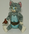 Looney Tunes Porcelain Articulated Box Tom Jerry-Cut to the Chase LE 500 1997