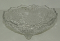 Mikasa Snowflake Footed Bowl / Open Candy Dish 5 inch