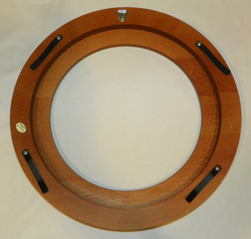 Walnut Finish Wood Plate Frame 8 1 4 To 9 1 4 Inch Plate