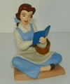 WDCC Disney Figurine Beauty and the Beast Belle Bookish Beauty Membership Piece 2005