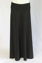 BEAUTIFUL Flowing Black Long Skirt, Sizes 6-20