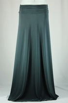BEAUTIFUL Flowing Charcoal Gray Long Skirt, Sizes 6-20
