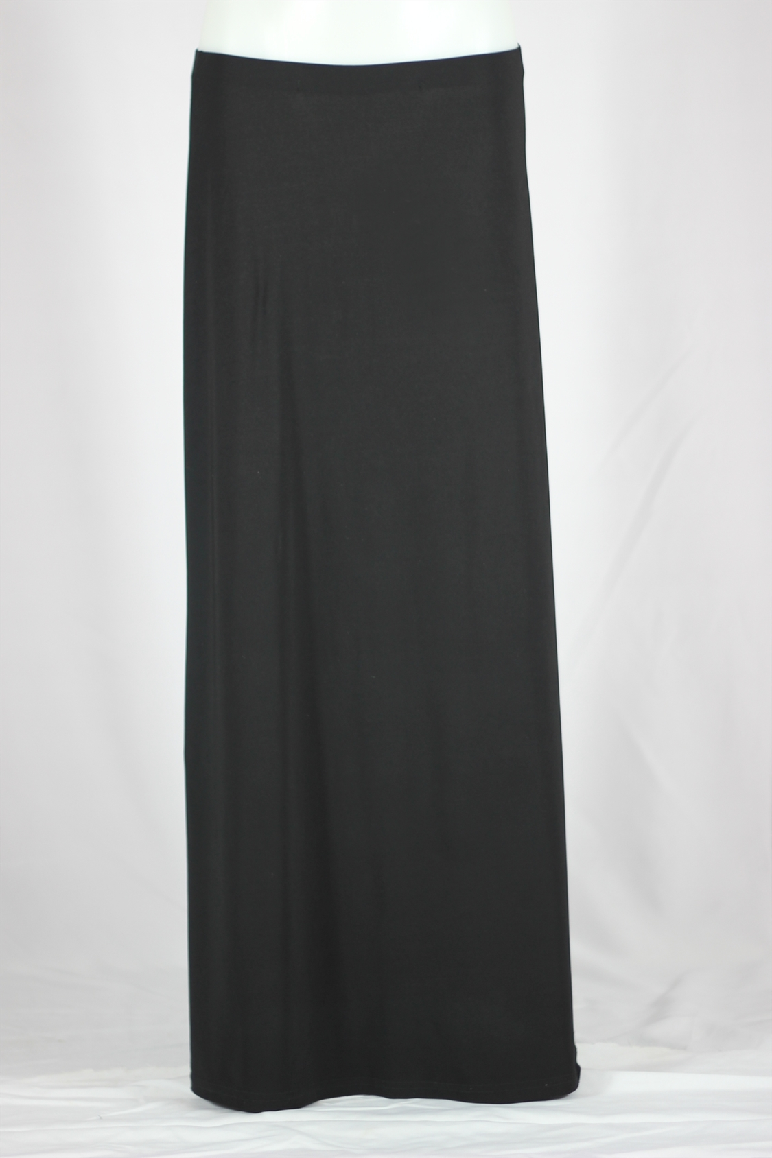 Long Black Flowing Skirt, Sizes 0-16