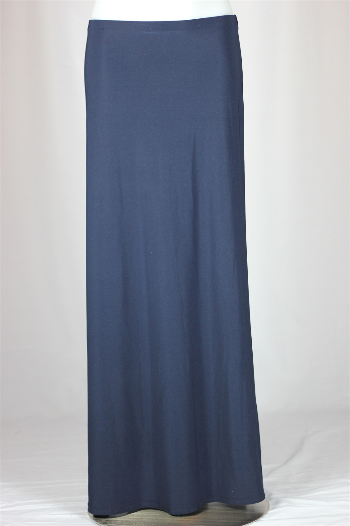 Navy Long Flowing Skirt, Sizes 0-16