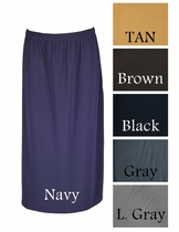 Practical Dressy Skirt, Sizes 4-18