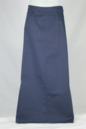 Simple Long Navy Skirt, Sizes 4-14