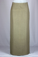 Siri Autumn Long Khaki Skirt, Sizes 2-18