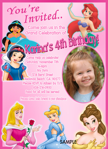 Personalized Birthday Invitations wblqualcom