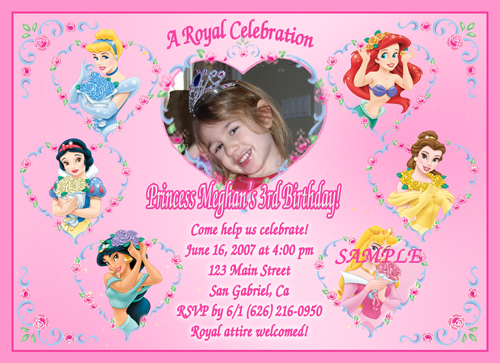 Custom Birthday Invitations Wblqual