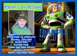 Custom Photo Birthday Invitation Toy Story 1