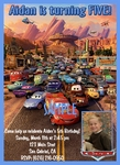 Custom Photo Birthday Invitations Disney Cars #9