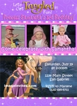 Custom Photo Birthday Party Invitation Tangled Rapunzel #5