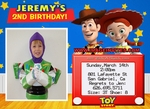 Toy Story 3 Birthday Invitations Invites Photo #4