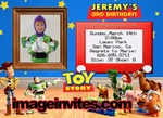 Toy Story 3 Photo Birthday Invitations Cards Personalized #2