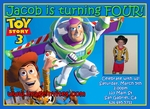 Toy Story Birthday Invitations Invites Photo #3