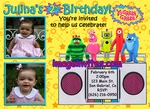 Yo Gabba Gabba Photo Invitations Birthday 1