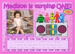 Yo Gabba Gabba Photo Invitations Birthday 2