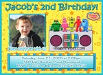Yo Gabba Gabba Photo Invitations Birthday 3