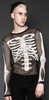 Fishnet Skeleton Top