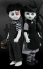 Living Dead Dolls - Black and White Jack & Jill