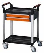 Plastic Trolley with Drawer (15308)