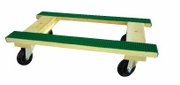 Rubber Top Wooden Frame Dolly (15503)