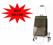 """Stair Climbing"" 3-Wheel Luggage/Shopping Cart (15602)"
