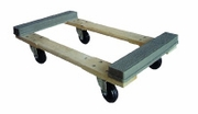 Wooden Frame Rubber Cap Dolly (15502)