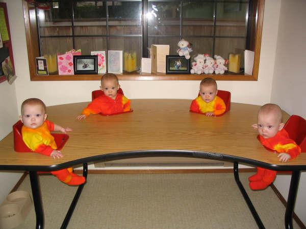 Feeding & Activity Quad Table - Largest Twin Store & Twin ...