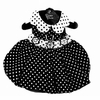 Polka Dot Dog Dress by Doggie Design