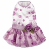 Elegance Rosette Dog Dress