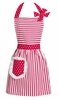 Dorothy Strawberry Hostess Apron