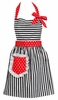 Dorothy Cherry Red  Retro Apron