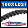 100XL031 Timing belt H/HTD. 10� Length, 50 teeth, 5/16� Wide.