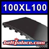 "100XL100 Synchronous Belt. 10"" (254mm) Length, 1"" (25mm) Wide, 1/5"" (.200/XL) Pitch. 50 Teeth."