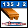 135J2 Poly-V Belt (Micro-V): Metric 2-PJ305 Motor Belt.