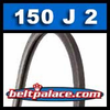 150J2 Poly-V Belt, Metric 2-PJ381 Motor Belt.