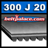 300J20 Micro-V Belts: J Section