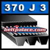 370J3 Poly-V Belt (Micro-V): Metric 3-PJ940 Motor Belt.