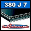 380J7 Poly-V Belt. Metric 7-PJ965 Drive Belt.
