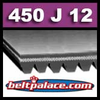 450J12 Poly-V Belt (Micro-V): Metric 12-PJ1143 Motor Belt.
