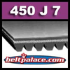 450J7 Poly-V Belt (Micro-V): Metric 7-PJ1143 Drive Belt.