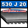 530j20 Belt, Micro-V, Poly V Belt: J Section Motor Belt