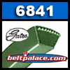 6841 PoweRated V-Belts: 2 or 4L Section