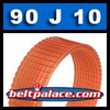 90J10 Poly-V Belt, Metric 10-PJ229 Motor Belt.