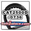 SPIRIT CAT2500D-0736, CPC belt replacement CVT Belt for PUG F4A �98.