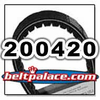 COMET 200420 (A-DF), Comet Industries replacement belt. 883-75 Go Kart Belt.