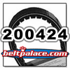 COMET 200424 (A-DF), Comet Industries belt replacement for TC88 Series, 883-95 Go Kart belt.