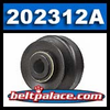 Comet 202312A Centrifugal Clutch. Heavy Duty Self Contained Single Pulley.